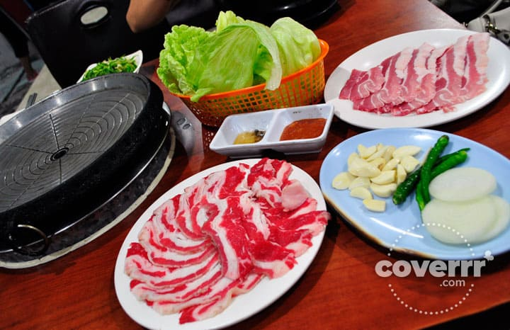 Meat and beef dishes at the Pearl Korean Meat Shop & Restaurant, Cebu, Philippines | Coverrr