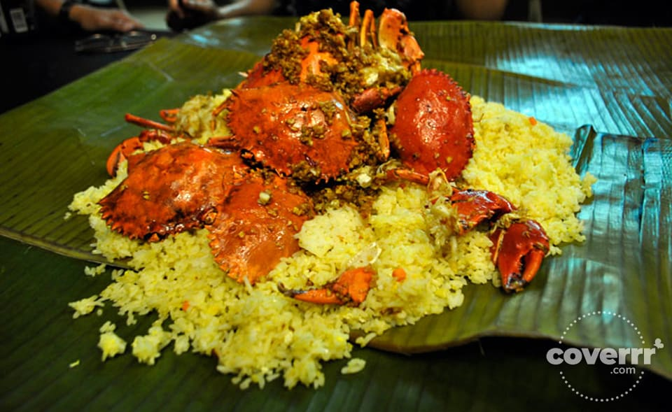 """All Crab"" - Boodle Fight Dining at the Blackbeard's Seafood Island, Cebu, Philippines 