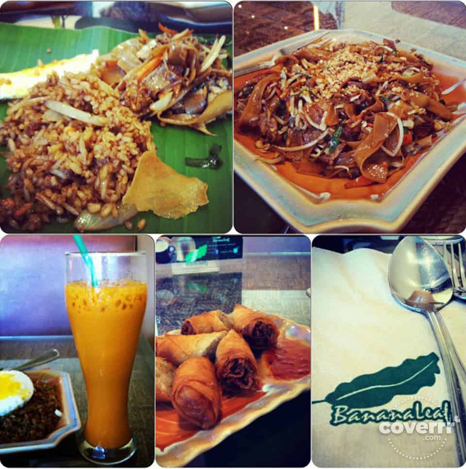 Nasi Goreng and Pad Thai Dishes | Banana Leaf, Cebu, Philippines | Coverrr