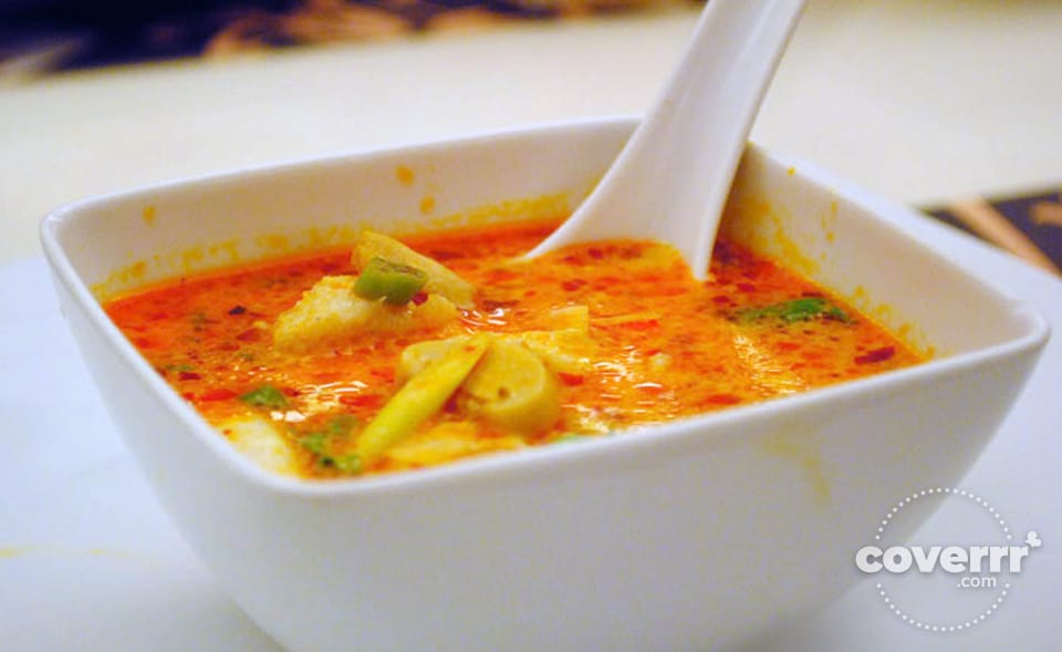 Tom Yum Seafood Soup at the Siam Thai Cuisine | Ayala Center Cebu, Philippines | Coverrr